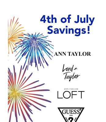 4th of July Weekend Savings