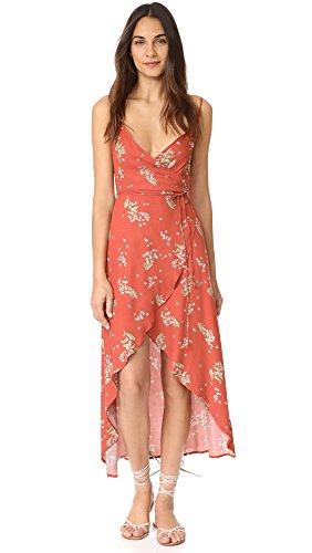 Somedays Lovin Women's Lover Floral Print Wrap Dress