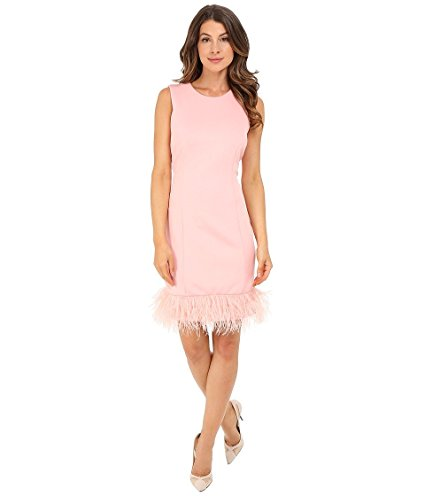 RSVP Feather Trim Dress Image