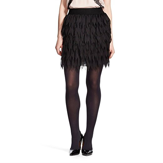 K by Kersh Lasercut Feather Skirt