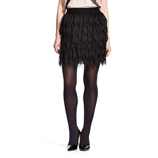 K by Kersh Lasercut Feather Skirt