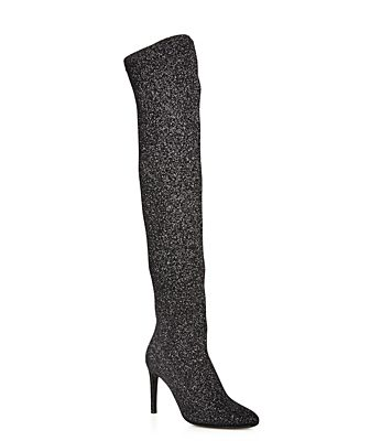 Don't Let Anyone Dull Your Sparkle!  Glittery Boots – Fall 2017 Fashion Trend #6