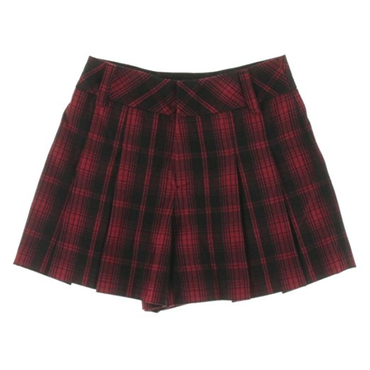 Alice + Olivia Women's Plaid Pleated Shorts