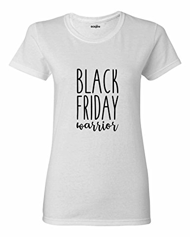 Ecejix Black Friday Warrior Tshirts Women Regular T Shirt