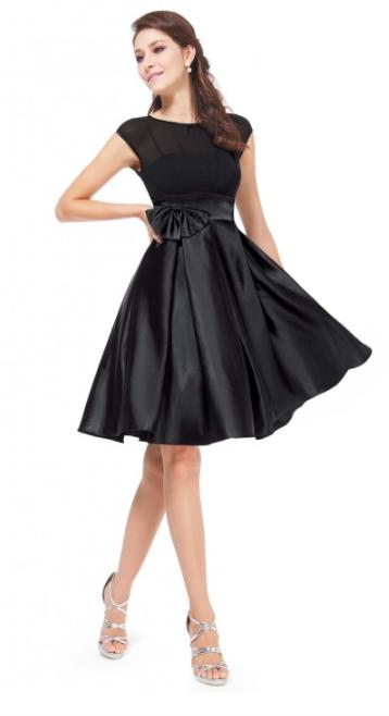 Satin Knee-Length Party Dress. $34.99 (Originally $40.99).