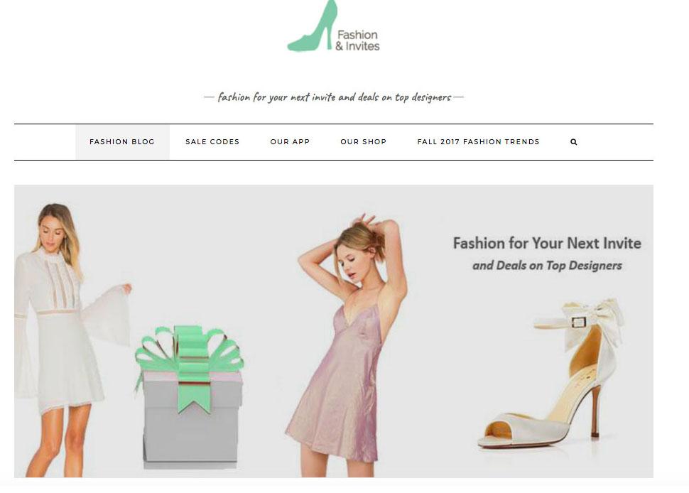 Express Press Release: Fashion & Invites: Women's Fashion Trends and Exclusive Fashion Sale Codes at fashionandinvites.com