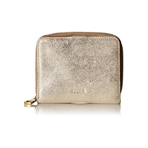 Fossil Emma RFID Mini Multifunction Pale Gold Metallic Wallet. $50.00 - Free shipping.