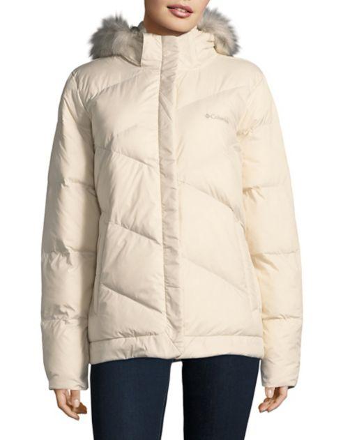 Columbia Faux-Fur Trim Snow Eclipse Jacket.