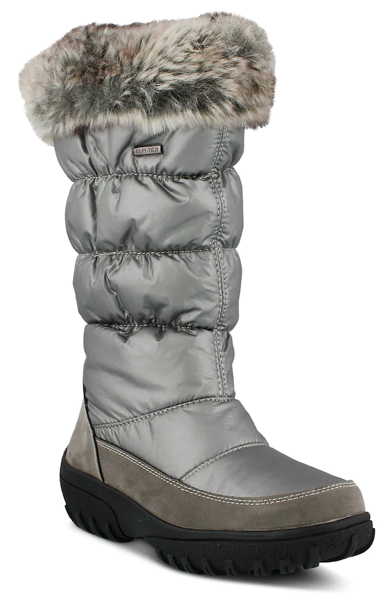 Spring Step Vanish Women's Waterproof Winter Boots. Snow won't stand a chance with these waterproof Vanisha winter boots from Spring Step. Boot Features Quilted Faux fur collar.