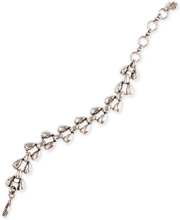 Silver-Tone Vintage Link Bracelet by Lucky Brand.
