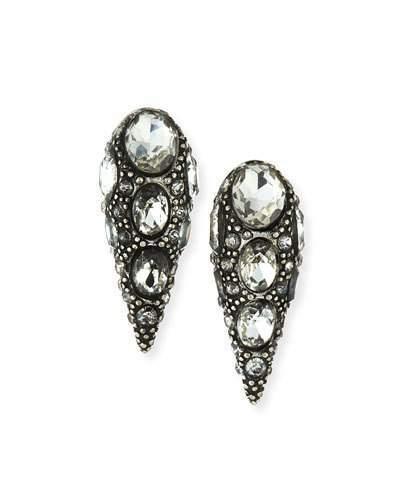 Lulu Frost Jabrosa Rhinestone Stud Earrings