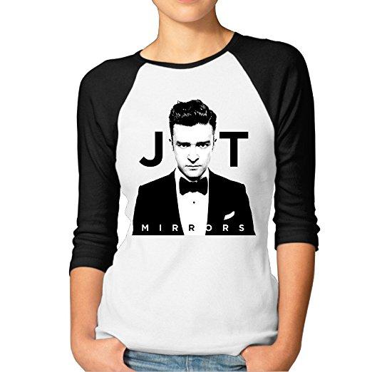 Jersey Women's Print T-shirts With Justin Timberlake.