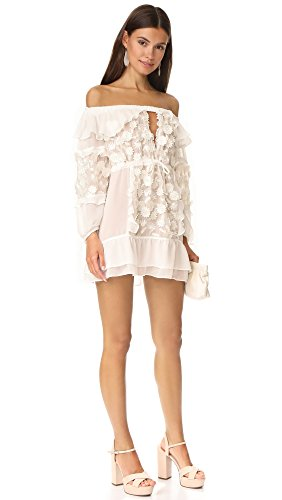 For Love & Lemons Women's Dress Off Shoulder Tunic - Luxury for Less Women's Fashion