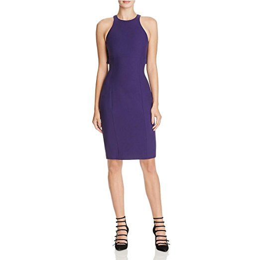 Cinq a Sept Womens Makenna Cut Out Ruffled Cocktail Dress - Luxury for Less, Women's Fashion