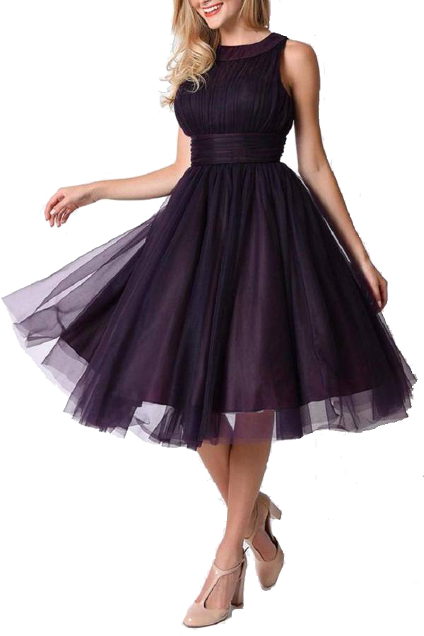 Eggplant Swing Dress by Unique Vintage. $62.50 (Originally $125). This 1950's style halter swing dress is sure to turn heads in this radiant shade of purple. Dress features a high semi-sheer halter neckline layered over a padded peek-a-boo sweetheart bust outfitted with flexible boning for stunning structure. A flattering A-line silhouette -with classic sensibility and just a bit of sex appeal, this dress is perfect for parties, dinners, or any fabulous occasion. Women's Fashion. Vintage Dresses. Fashion Sale Codes.