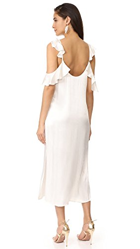 Women's WAYF Costa Ruffle Cold Shoulder Slip Dress. Women's Fashion. Women's Sale Codes. Fashion and Invites.