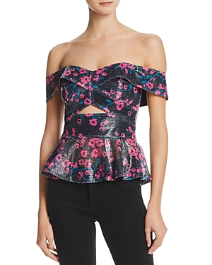Sequined Off-the-Shoulder Top by WAYF. Women's Fashion. Fashion Sale Codes. Fashion and Invites. WAYF Weekend Wardrobe.