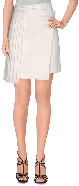 White Miniskirt by EDUN. Giving While Shopping. Fashion and Invites.