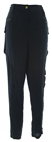 Women's Crepe De Chine Cargo Pants by EDUN. Giving While Shopping. Fashion and Invites.