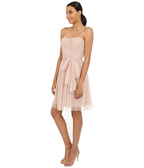 Pleated Ciena Bow Dress by RSVP. Sheer Beauty - Spring Fashion Trend #1. Fashion and Invites.