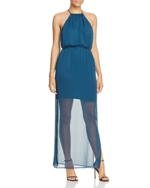 WAYF Sheer-Hem Whisper-Weight Dress Image