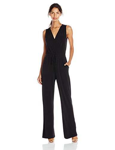 BCBGeneration Sleeveless Surplice Jumpsuit Image