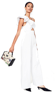 It Suits You!  White Jumpsuits: Spring / Summer 2018 Fashion Trend #6