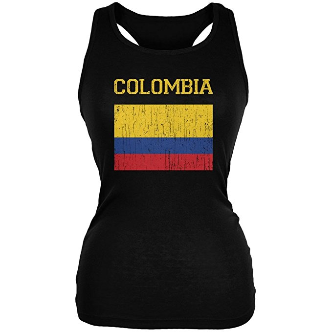 Colombia Soccer Tank.