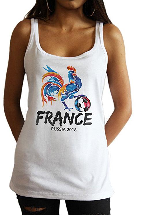France Soccer Tank.