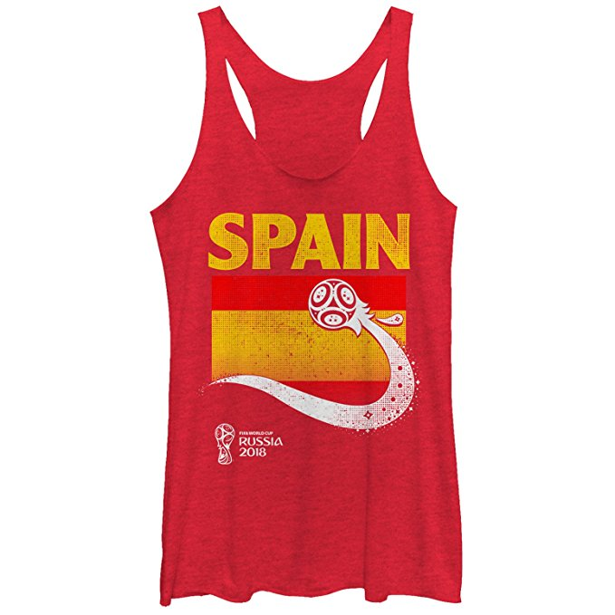 Spain Soccer Tank - World Cup Fashion.