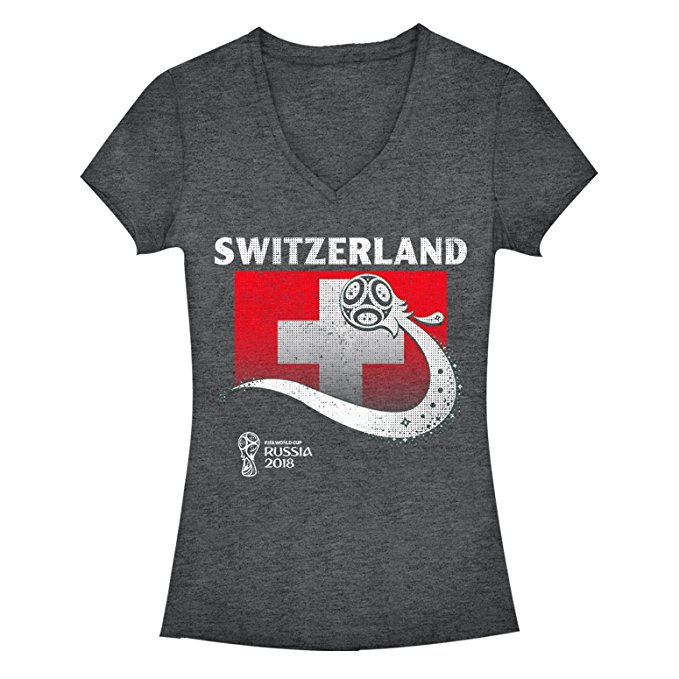 Switzerland Soccer T-shirt - World Cup Fashion.