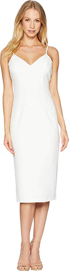 Isabella Dress by Bardot. A midi dress that is sleeveless and in a sheath silhouette.