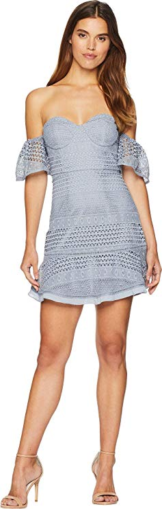 Bardot Womens Lucille Lace Dress