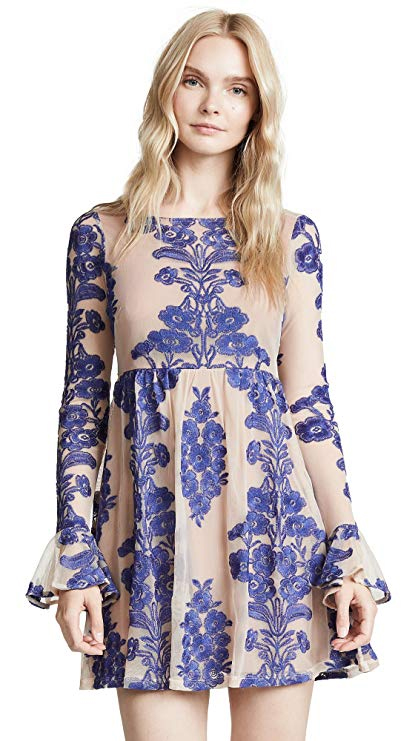For Love & Lemons Women's Temecula Mini Dress. Fashion Empire App..