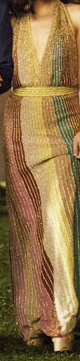 Missoni gown featured in Crazy Rich Asians