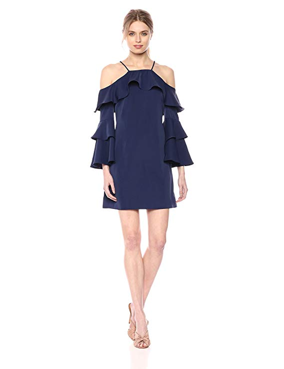 Laundry by Shelli Segal Women's Cold Shoulder Dress. Fashion Empire Design Studio App.