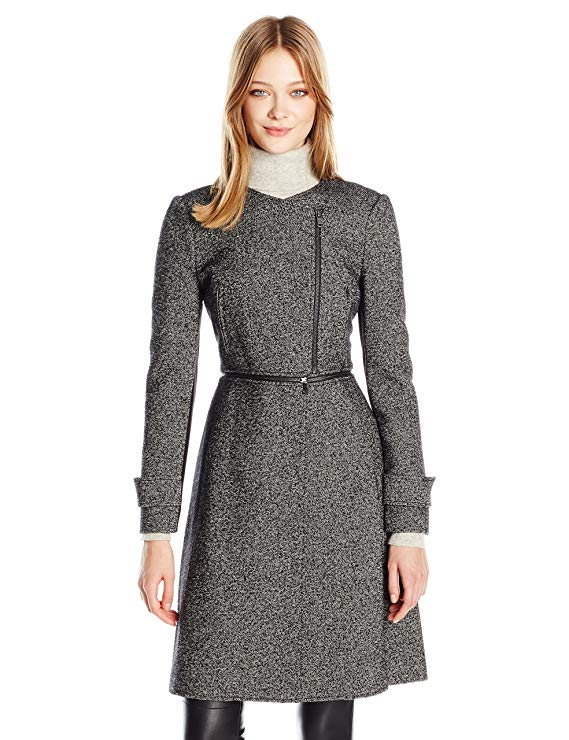 BCBGMAXAZRIA Women's Jarrett Woven Outerwear. Fashion Invite App.