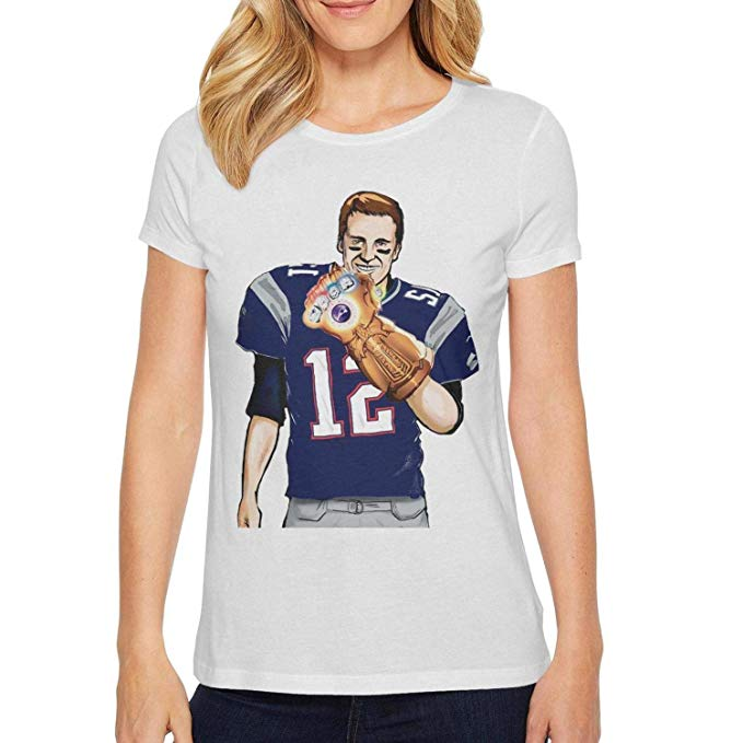 Tom Brady My-Goat-has-5-Rings- Short Sleeve Cotton Shirt by FPFLY.