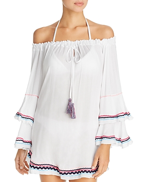 Surf Gypsy Zigzag Trim Tunic Swim Cover-Up.  CLICK IMAGE TO PURCHASE.