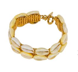 Isabel Marant Shell Bracelet.  CLICK IMAGE TO PURCHASE.