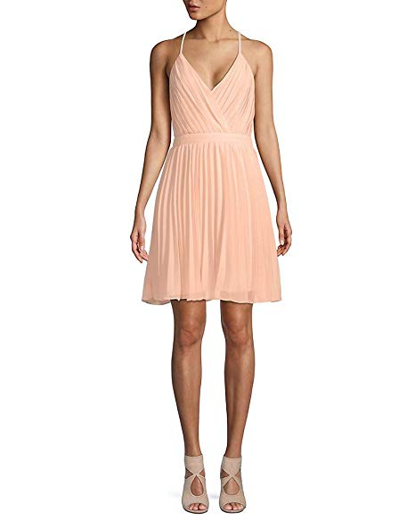 Pleated Mini Dress by Endless Rose.  CLICK IMAGE TO PURCHASE.
