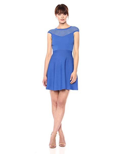 French Connection Tobey Crepe Knits Dress Image