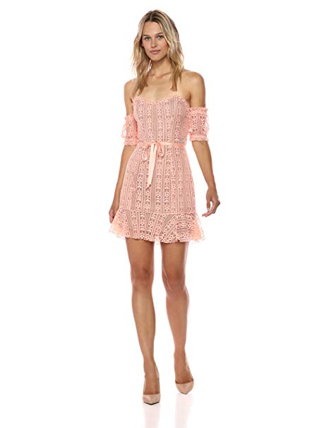 For Love & Lemons Dakota Lace Mini Dress Image