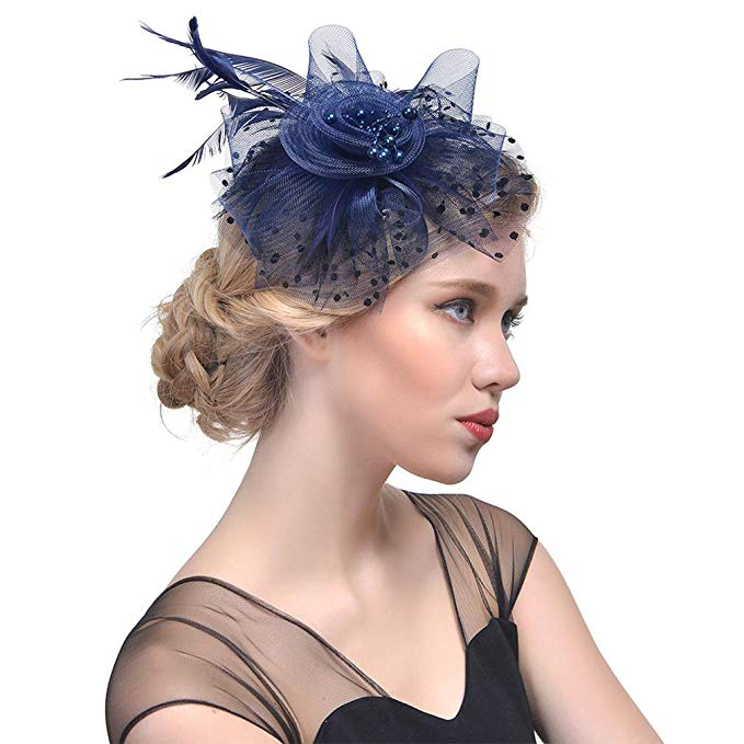 Fascinator Hat for the Kentucky Derby.  Click for Details.