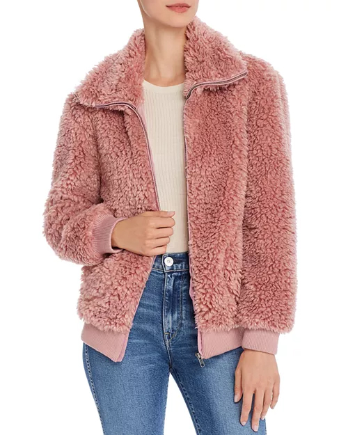 The Teddy Or Not Faux-Fur Jacket by BB Dakota